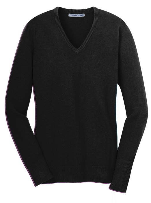 Port Authority LSW285 Ladies V  Neck Sweater