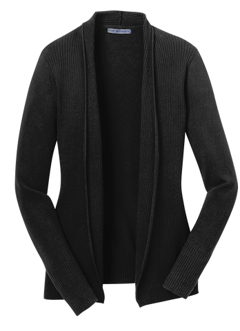 Port Authority LSW289 Open Front Cardigan