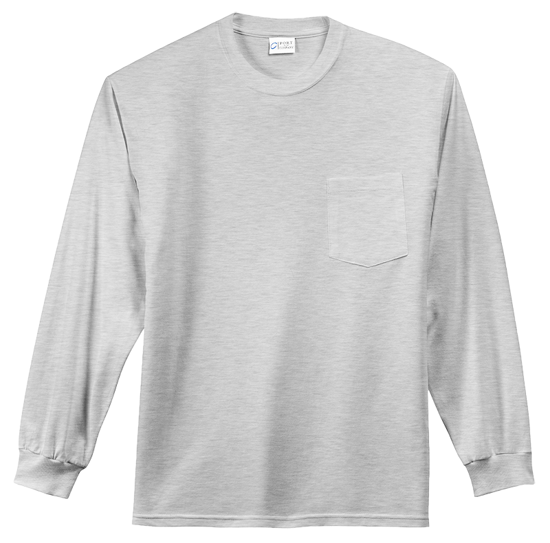 Port & Company PC61LEP Pocket Long Sleeve