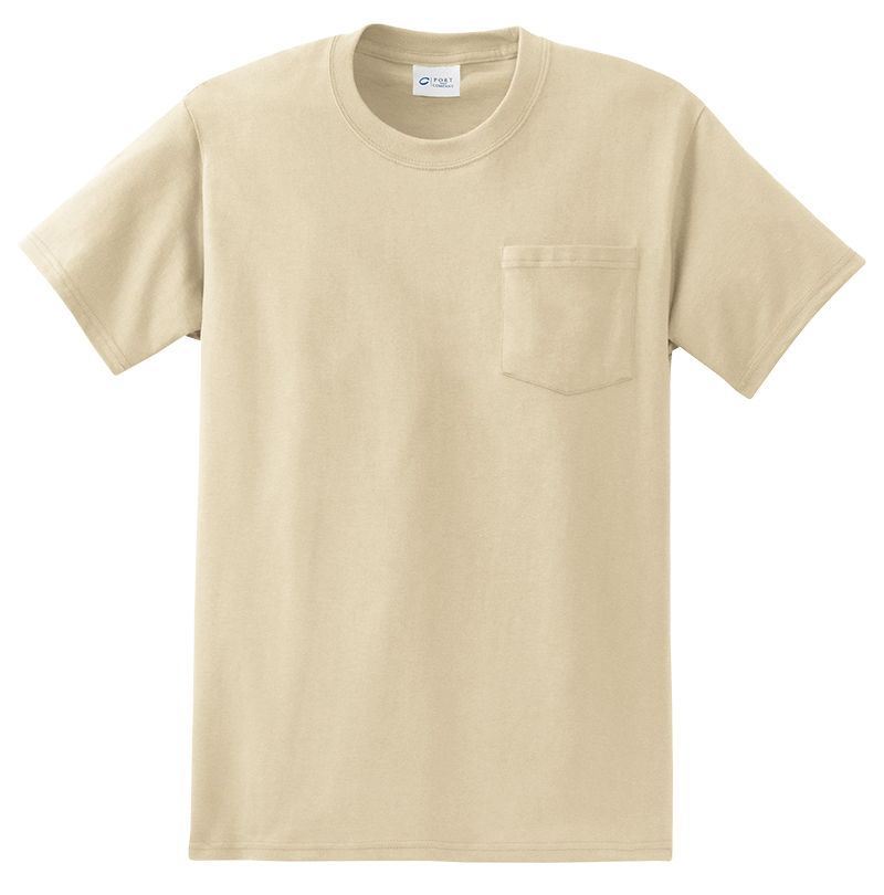Port & Company PC61P Pocket Tee