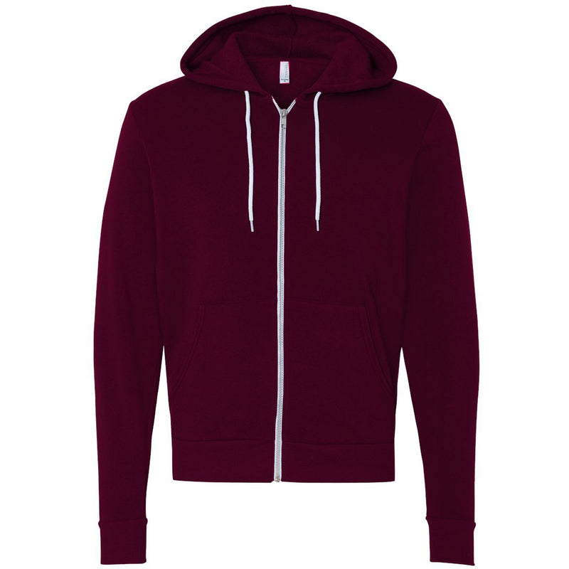 Bella + Canvas Unisex Fleece Full-Zip Hoodie