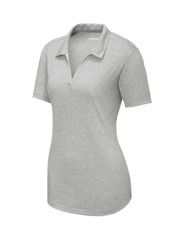 Sport-Tek ® Ladies PosiCharge ® Tri-Blend Wicking Polo