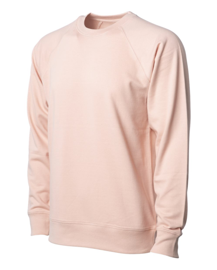 Independent Trading Co. - Icon Unisex Lightweight Loopback Terry Crew