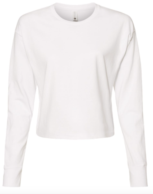 Next Level - Women's Long Sleeve Modest Crop