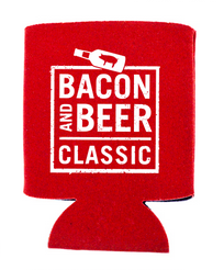 BACON & BEER CLASSIC 2014 Red Koozie