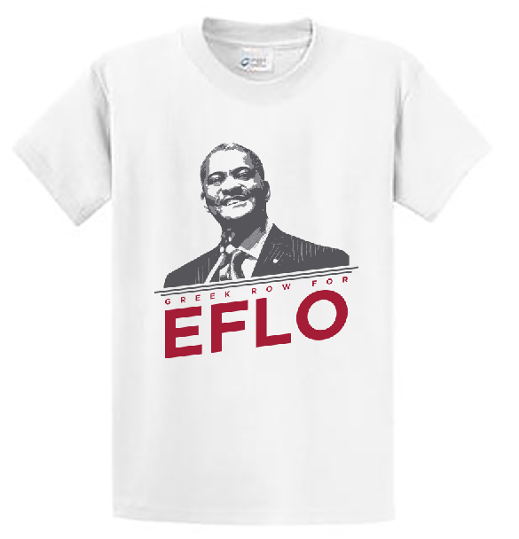 Greek Row For E FLO T-Shirt