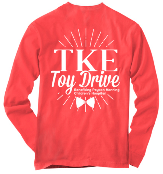 Indiana University Tau Kappa Epsilon Fall Toy Drive 2015 Shirts