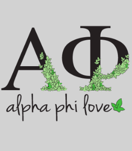 Alpha Phi Love- Next Level Tank Top