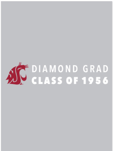 Washington State University Alumni Association Diamond Grad (Class of 1956) 2016 Tote Bags