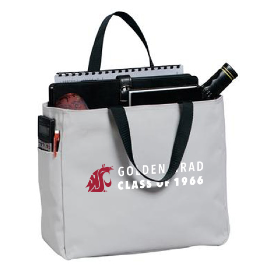 Washington State University Alumni Association Golden Grad (Class of 1966) 2016 Tote Bags