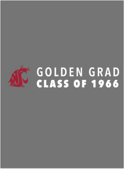 Washington State University Alumni Association Class of 1966 Reunion Apparel 2016 Golden Grad Unisex Polo