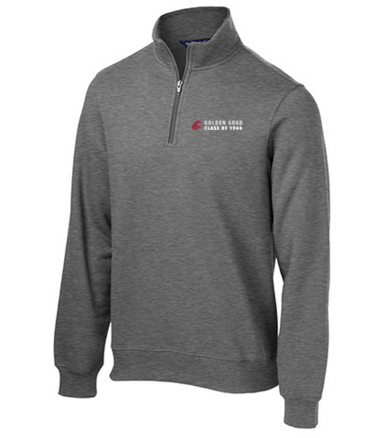 Washington State University Alumni Association Class of 1966 Reunion Apparel 2016 Golden Grad 1/4 Zip