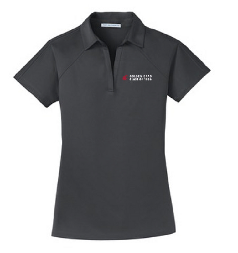 Washington State University Alumni Association Class of 1966 Reunion Apparel 2016 Golden Grad Ladies Polo