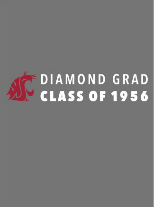 Washington State University Alumni Association Class of 1956 Reunion Apparel 2016 DIAMOND GRAD Unisex Polo