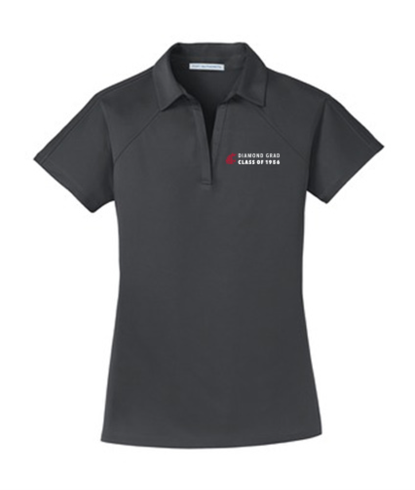 Washington State University Alumni Association Class of 1956 Reunion Apparel 2016 DIAMOND GRAD Ladies Polo