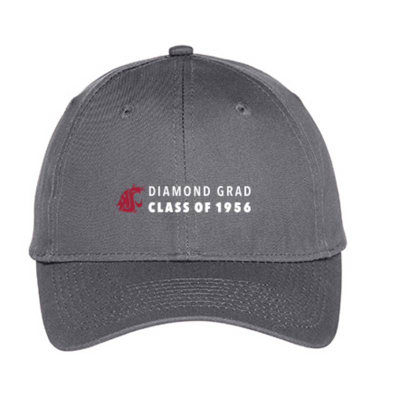 Washington State University Alumni Association Class of 1956 Reunion Apparel 2016 DIAMOND GRAD Baseball Cap
