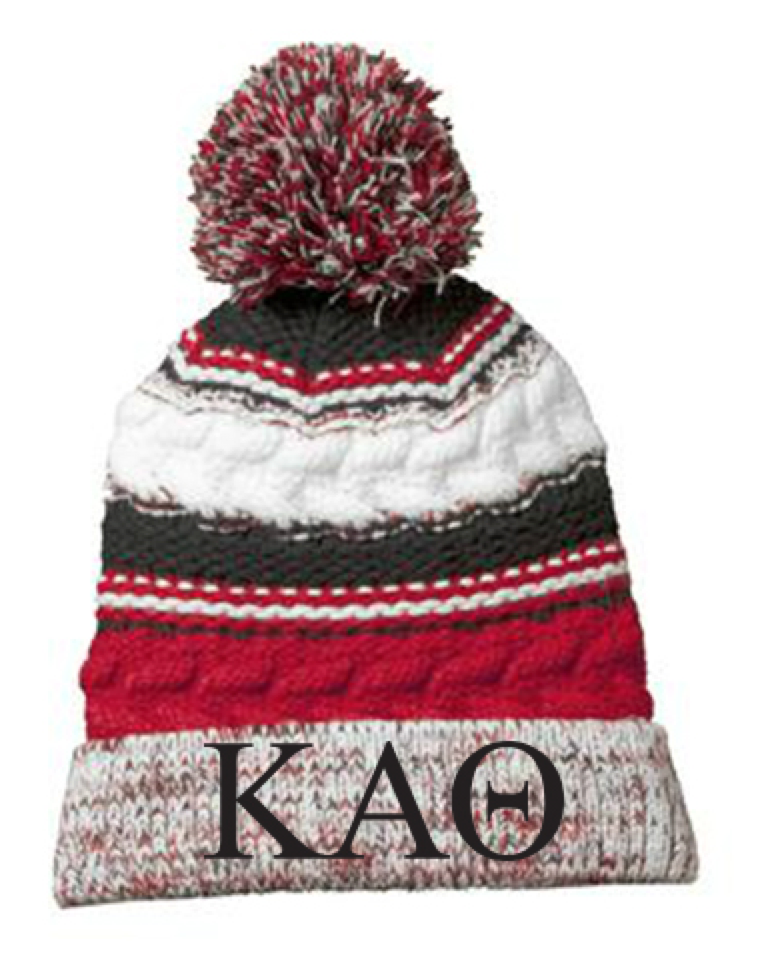 Kappa Alpha Theta Boutique 2016 Red Beanie