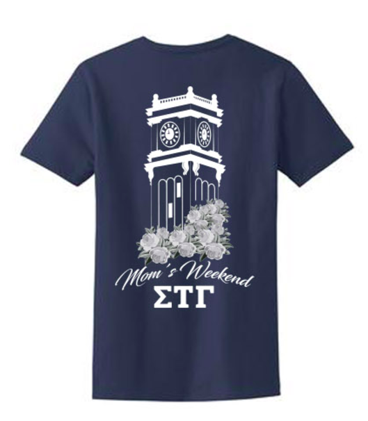 Washington State University Sigma Tau Gamma Mom's Weekend 2017 Ladies Fit Tee