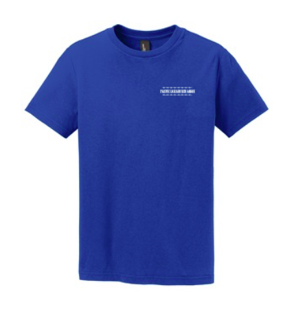 Pacific Cascade Farms LLC Youth Concert Tee (Available in Royal and Black)