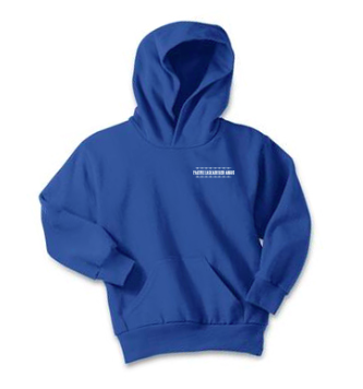 Pacific Cascade Farms LLC Youth Hoodie in Royal