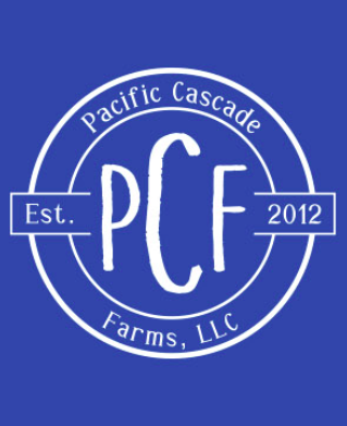 Pacific Cascade Farms LLC Full-Zip (Available in Royal and Black)