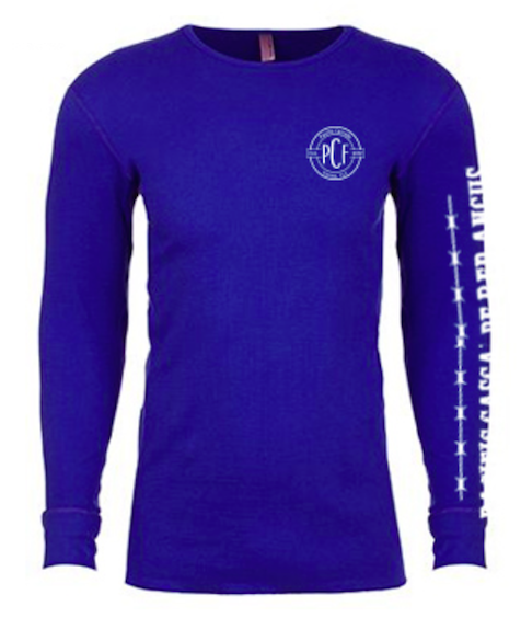 Pacific Cascade Farms LLC Long Sleeve Thermal in Royal