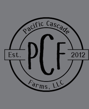 Pacific Cascade Farms LLC Crewneck Tee (Available in Deep Heather and Black)