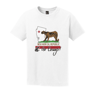 Washington State AA NorCal September 2017 Youth Tee in White