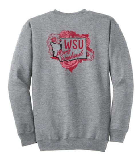 Washington State University SWEA Mom's Weekend 2018 Crewneck