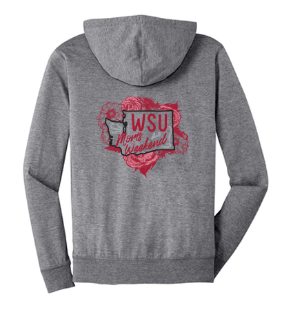 Washington State University SWEA Mom's Weekend 2018 Full-Zip Hoodie