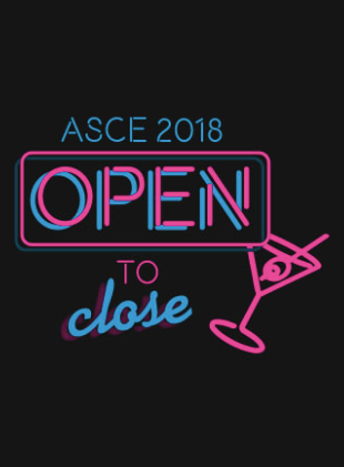 ASCE Open to Close Spring 2018 - Quarter Zip
