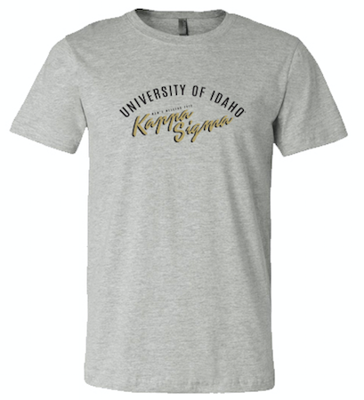 UNIVERSITY OF IDAHO KAPPA SIGMA MOM'S WEEKEND 2018 - SHORT SLEEVE TEE