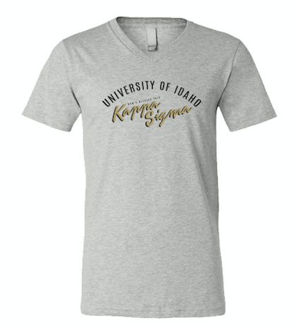 UNIVERSITY OF IDAHO KAPPA SIGMA MOM'S WEEKEND 2018 - V-NECK TEE