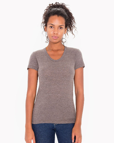 American Apparel Women's Triblend T-Shirt