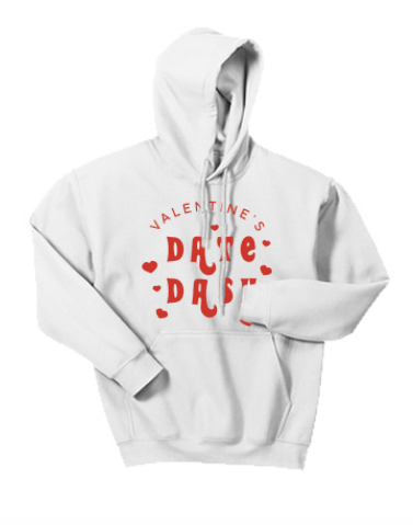 Washington State University Alpha Omicron Pi Valentine's Day Date Dash 2019 - Hoodie (2 Colors)