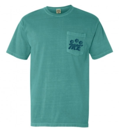 1. Tau Kappa Epsilon Throwback Pocket Tee