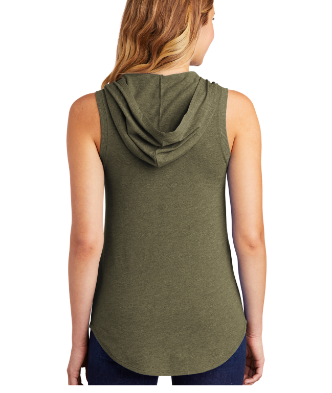 District® Women's Perfect Tri® Sleeveless Hoodie