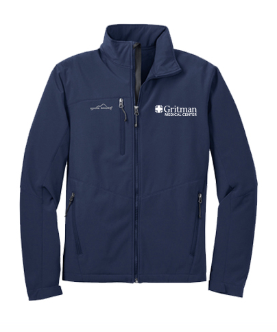Gritman Medical Apparel Showcase - Eddie Bauer Softshell Jacket