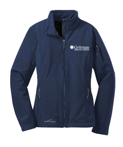 Gritman Medical Apparel Showcase - Ladies Eddie Bauer Softshell Jacket