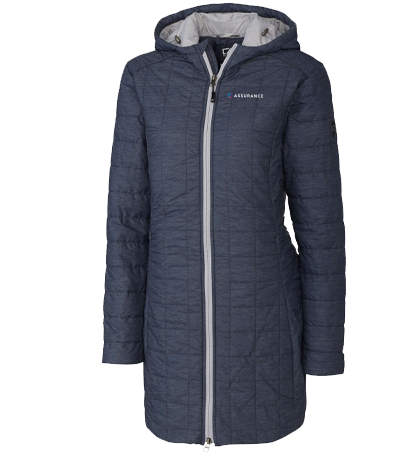 Assurance Apparel Fall 2019 - Ladies Long Rainier Jacket (2 Colors)