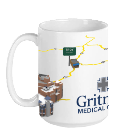 Gritman Medical Apparel Showcase - Coffee Mug