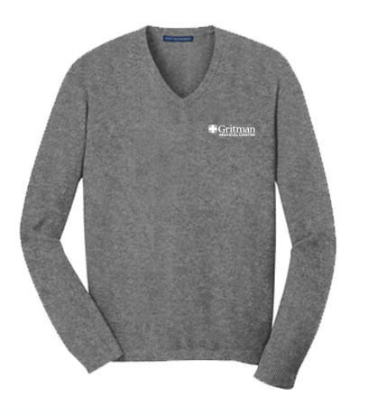 Gritman Medical Apparel Showcase - V-Neck Sweater
