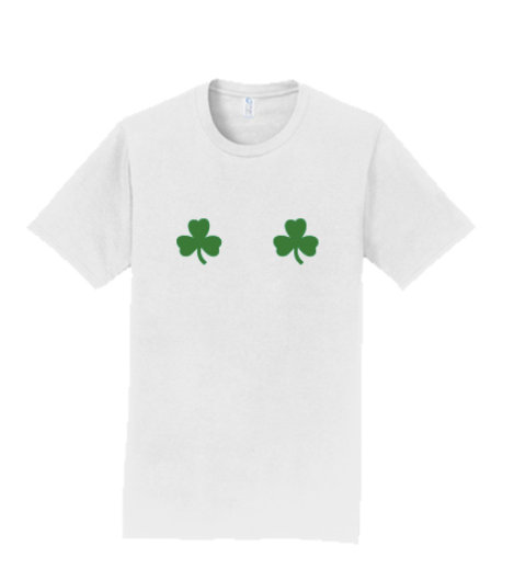 Washington State University Alpha Chi Omega St. Patrick's Day Date Dash 2020 - Tee (2 Colors)