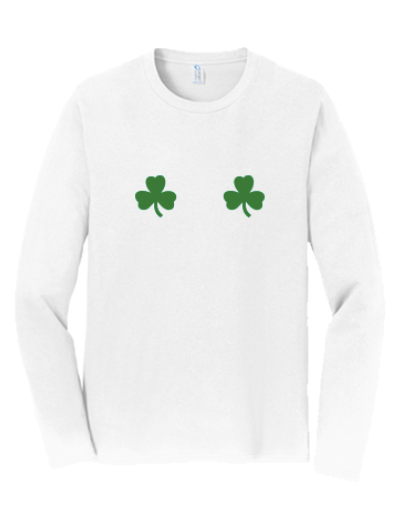 Washington State University Alpha Chi Omega St. Patrick's Day Date Dash 2020 - Long Sleeve Tee (2 Colors)