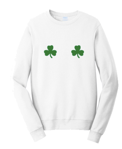 Washington State University Alpha Chi Omega St. Patrick's Day Date Dash 2020 - Crewneck (2 Colors)