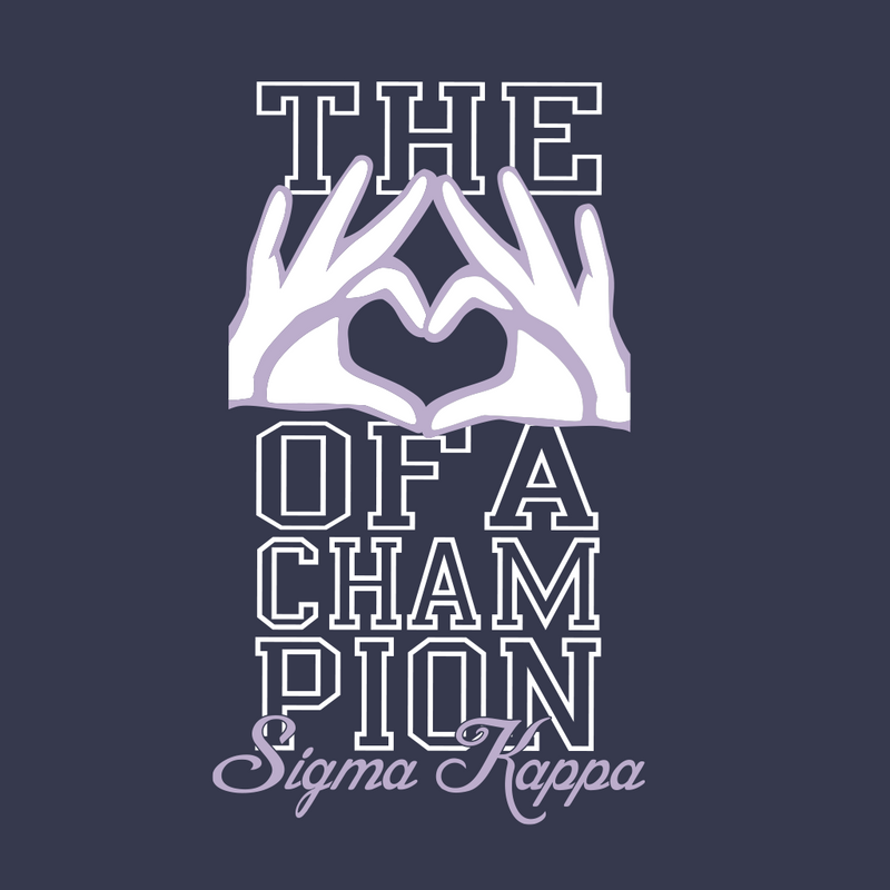 Sigma Kappa Sign of a Champion