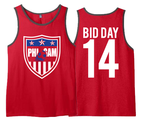 FIJI Bid Day Tanks