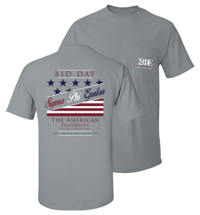 Sigma Phi Epsilon Bid Day Tees