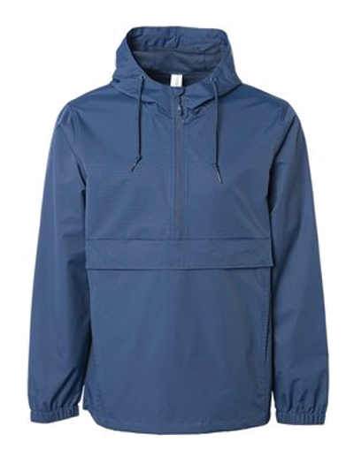 Independent Trading Co. Water Resistant Anorak Jacket