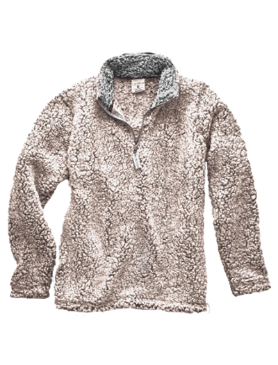 J America Ladies Epic Sherpa Quarter Zip